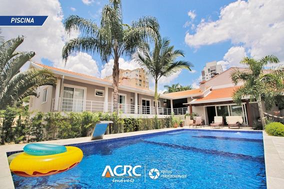 Acrc Imóveis - Casa Residencial De Alto Padrão Totalmente Mobiliada No Bairro Da Velha - Ca01210 - 34672910