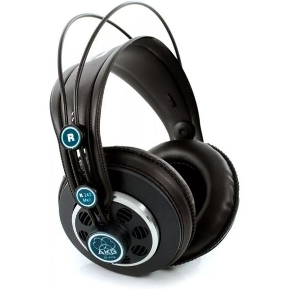 Fone De Ouvido Akg Headphone K240 Mkii Profissional Original