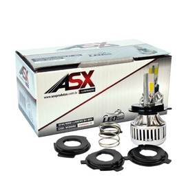 Lampada Super Branca Led Moto 3d Universal Asx 6000k