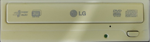 Imagem 1 de 3 de Gravador De Dvd E Cd LG Conexão I.d.e. Pc Antigo