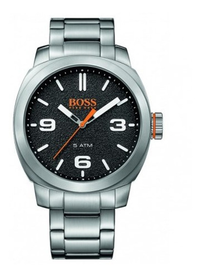 Reloj Análogo Marca Hugo Boss Modelo: 1550013 Color Plata Pa