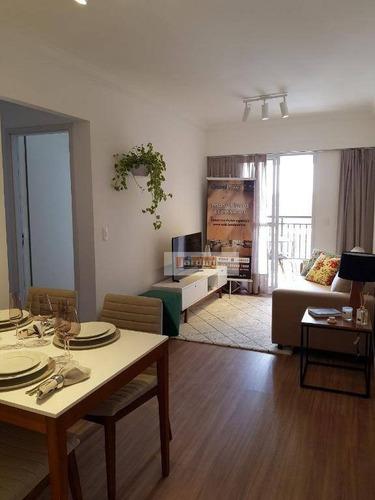 Apartamento Com 2 Dormitórios À Venda, 69 M² - Vila Dusi - São Bernardo Do Campo/sp - Ap5859