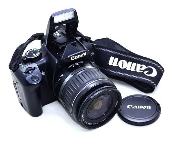 Câmera Canon Eos Digital Rebel Xti Kit C/ Lentes E Flash