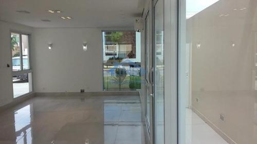 Imagem 1 de 30 de Sobrado Com 4 Dormitórios Para Alugar, 406 M² Por R$ 21.500,00/mês - Cidade São Francisco - Osasco/sp - So0971
