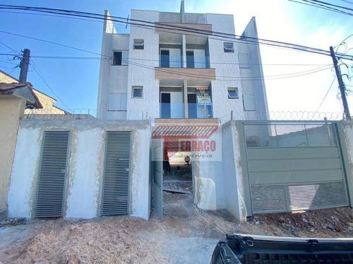 Cobertura Com 2 Dormitórios À Venda Por R$ 365.000,00 - Vila Helena - Santo André/sp - Co0709