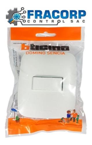 Imagen 1 de 4 de Interruptor Simple Bticino Domino Sencia Ap1100