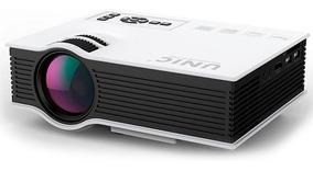 Projetor Portatil Led Uc40 1080p 130 Polegadas Data Show