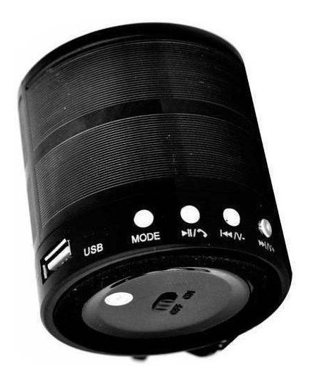 Mini Caixa Som Portatil 5w Ultrapotent Bluetooth Mp3 Usb Fm