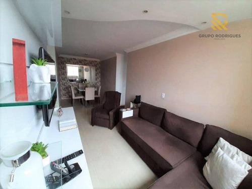 Imagem 1 de 22 de Apartamento Com 3 Dormitórios À Venda, 65 M² Por R$ 215.000 - Cidade Parque Alvorada - Guarulhos/sp - Ap0475