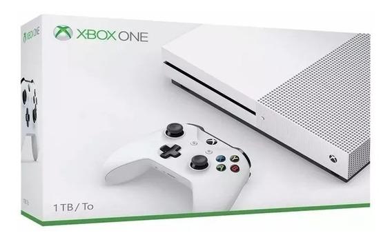 Xbox One S 1tb Hdr 4k Nota Fiscal+1 Ano De Garantia Microsof
