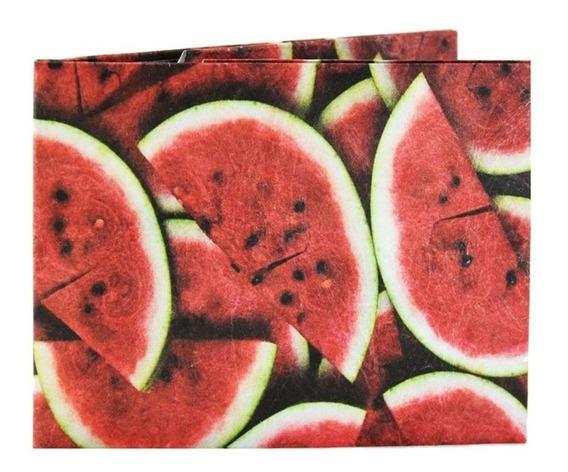 Billetera De Papel Tyvek Monkey Wallets Watermelon
