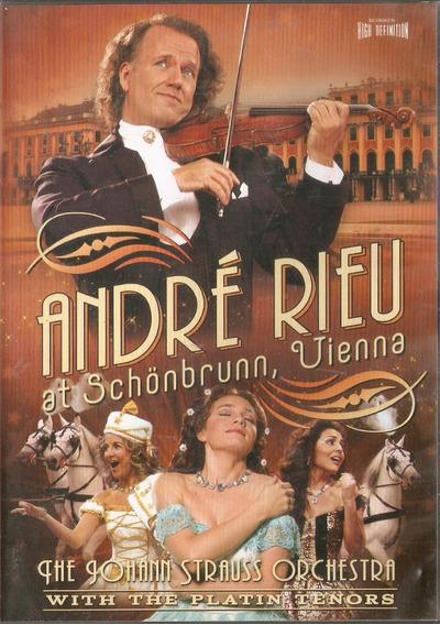 Dvd André Rieu - At Schonbrunn, Vienna - Novo***