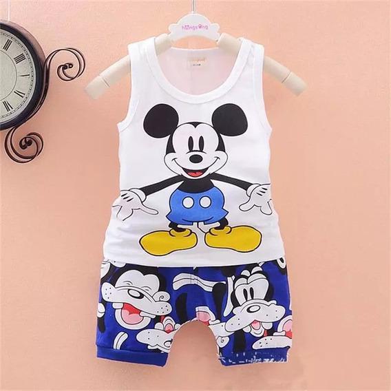 Conjunto Infantil Mikey Importado Disney