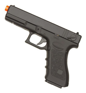 Pistola Airsoft Glock G18 Cyma Cm030 Aep - Nota Fiscal