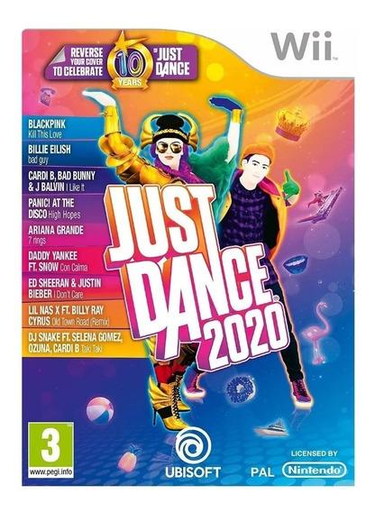 Just Dance 2020 Para Wii (leia O Anuncio)