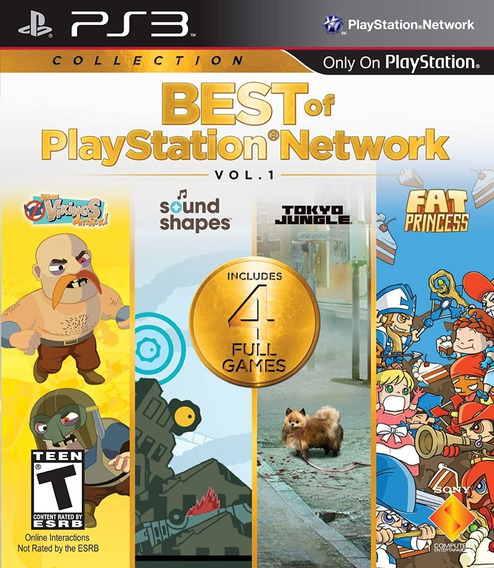 Best Of Plastation Network Vol.1 - Ps3