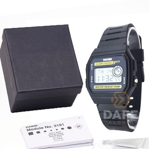 Relógio Unissex Skmei 1413 Original C/ Caixa E Nf