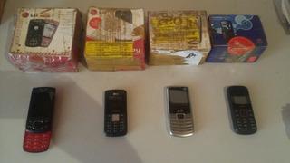Celular LG Tri Chip Huawei LG Gu230 Kit Lote Com 4 Defeito