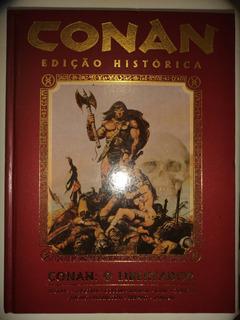 Conan O Libertador Edicao Historica Capa Dura Mythos 2011 Ex