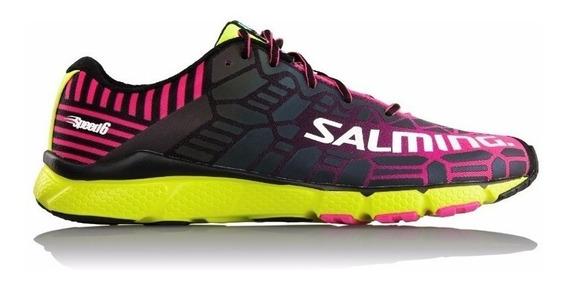 Zapatillas Salming Speed 6 Mujer Running Cuotas