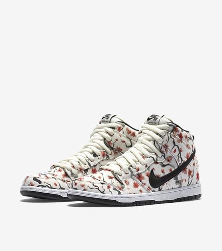 Nike Dunk High Pro Sb Cherry Blossom 2016