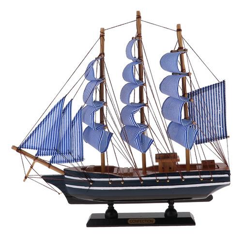 Modelo De Barco Pirata 330x55x310mm