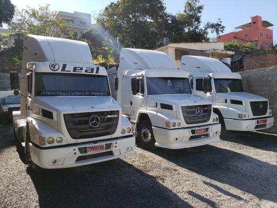 Mercedes-bens Atron 1635 4x2 Ano 2014/2014 3 Unidades Top !!