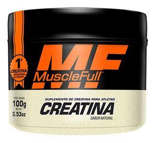 Creatina 100g - Monohidratada - Muscle Full
