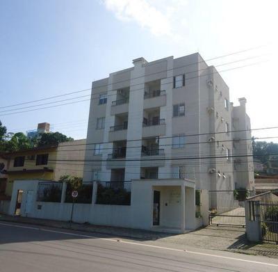 Apartamento No Saguaçú Com 2 Quartos Para Locação, 65 M² - 5261