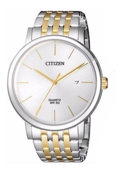 Relógio Citizen Masculino Prata/dourado Tz20699s