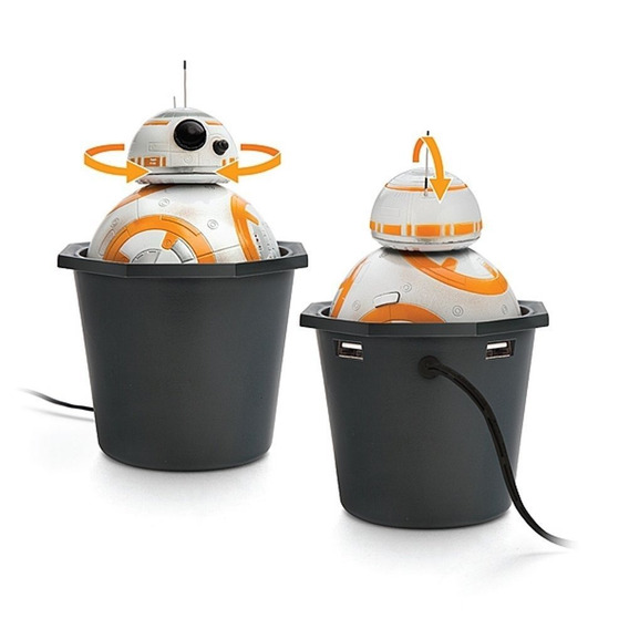 Star Wars Disney Bb-8 Cargador Para Carro Importado