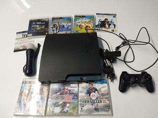 Ps3 Playstation 3 Cech 2511 B Mas Move Mas Juegos !!!