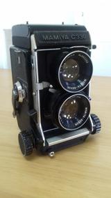 Câmera Fotográfica Mamiya C330 Lente 80mm Filme 120 E 220