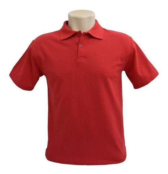 Camisa Polo Tamanho Grande - Lisa - Piquet - Plus Size