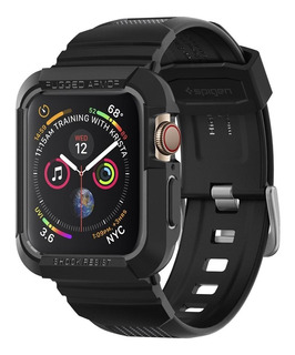 Case Pulseira Spigen Apple Watch S4 44mm Rugged Armor Pro