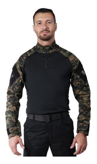 Combat Shirt Bélica Camuflada Digital Marpat