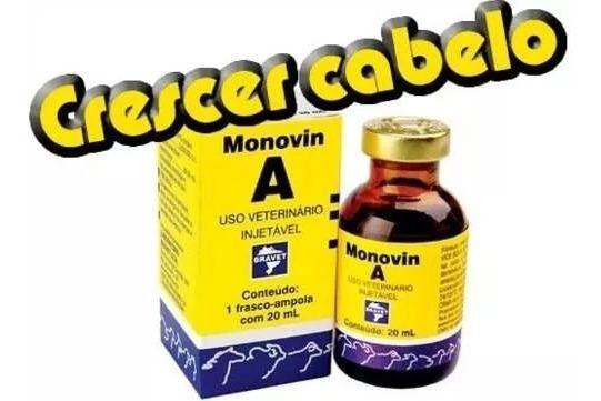 Monovin A 20ml Original Deixe Seu Cabelo Mais Forte