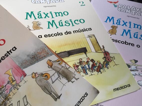 Máximo Músico 3 Livros