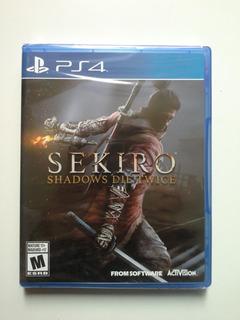 Sekiro Shadows Die Twice Para Ps4 Nuevo Y Sellado