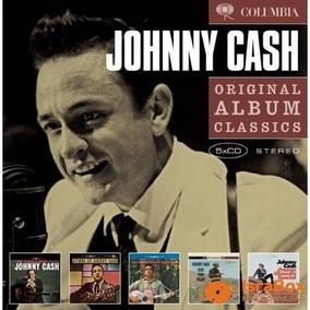 Johnny Cash - Original Album Classics [ Box Com 5 Cds Novo ]