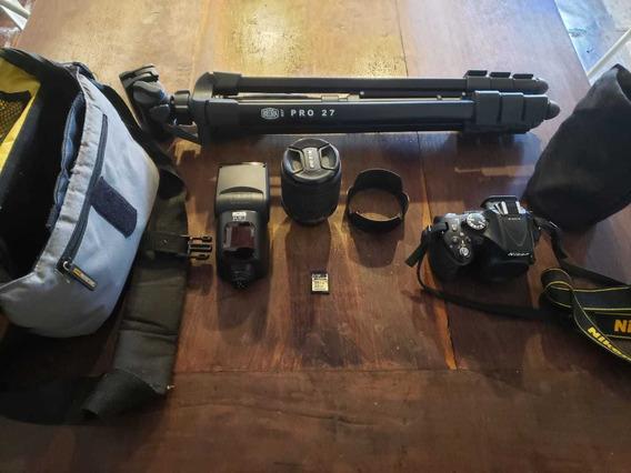 Cámara Reflex Nikon 5200