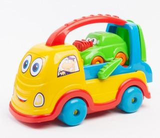Carrinho Carro Didático Brinquedos Vários Modelos Confira