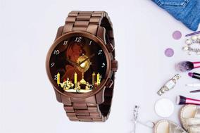 Relógio De Pulso Personalizado Religião Imagem - Cod.1103