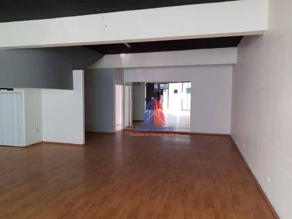 Salão Para Alugar, 272 M² Por R$ 6.000/mês - Jardim Girassol - Americana/sp - Sl0067
