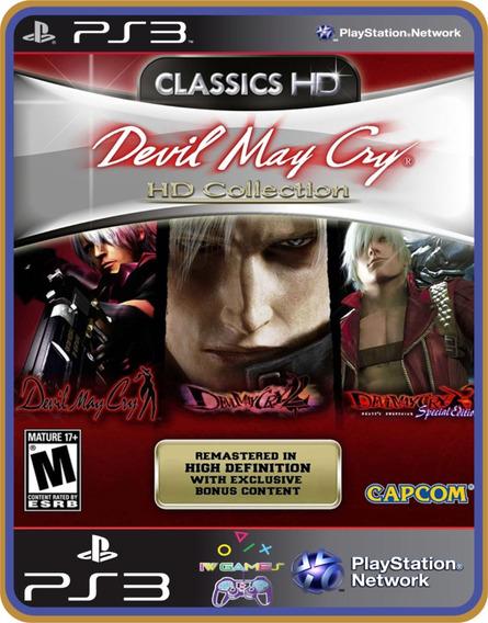 Ps3 Devil May Cry Hd Collection | Original Mídia Digital