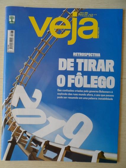 Revista Veja Retrospectiva 2019 - 01/01/2020