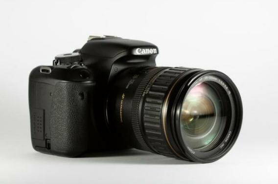 Câmera Dslr Canon T3i + Lente Canon 18-55