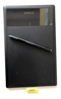 Tableta Gráfica Wacom Bamboo Splash Como Nueva!