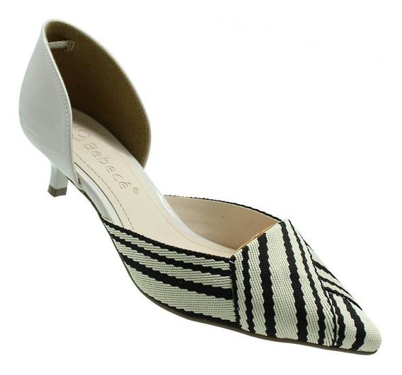 Sapato Scarpin Bebecê Amarilis Off Feminino