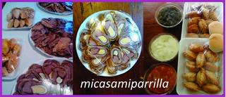 Lunch Casero Para 10 Personas Pernil/pollo/bondiola/matambre